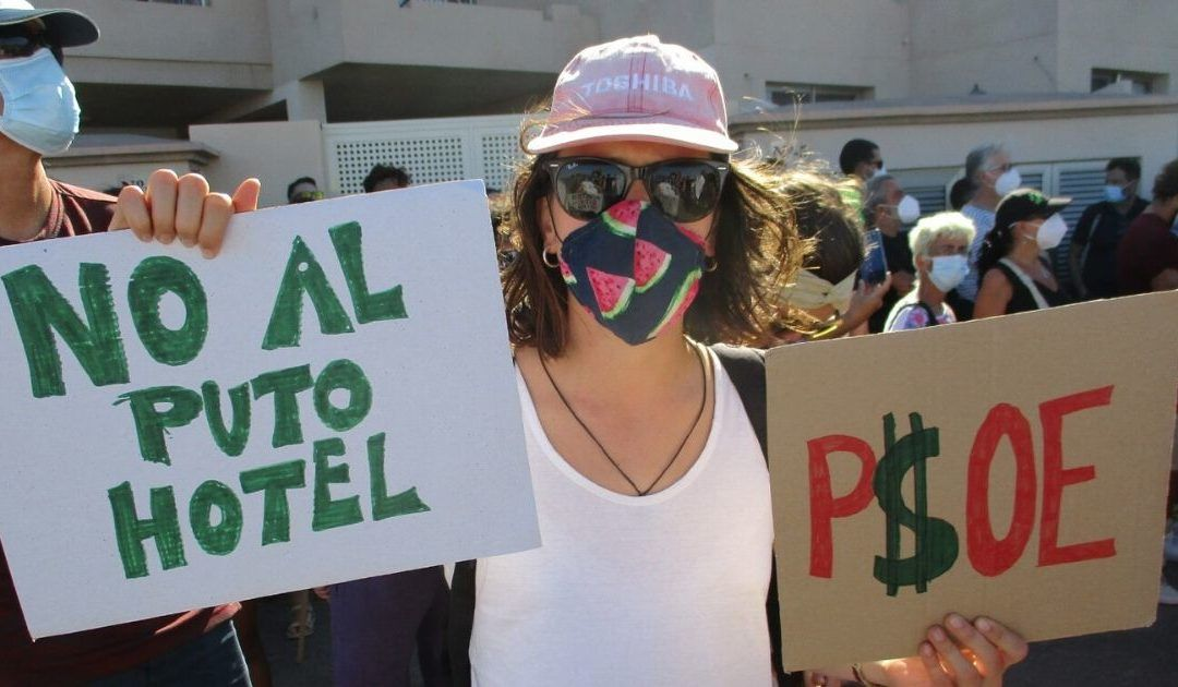 Hoy es La Tejitapero mañana viene Fonsalía y los hoteles en la costa de Arico