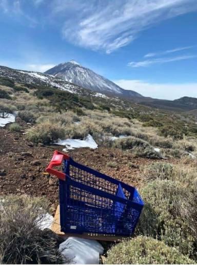 Carrito en El Teide
