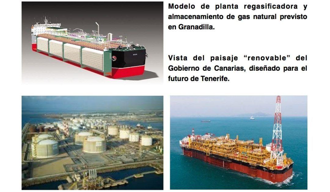 El nuevo modelo energético del gobierno canario contempla en Tenerife la mayor gasolinera de combustibles fósiles del Atlántico