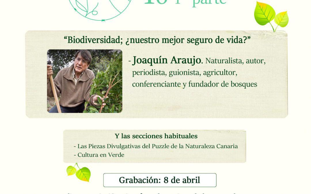Podcast Biodiversidad con Joaquín Araujo