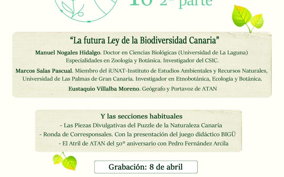 La Trinchera Verde 16 – 2ª Parte: La futura Ley de Biodiversidad Canaria