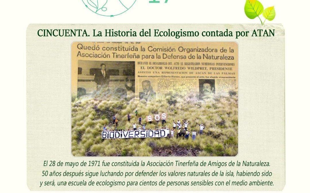 Cartel La Trinchera Verde 50 aniversario ATAN