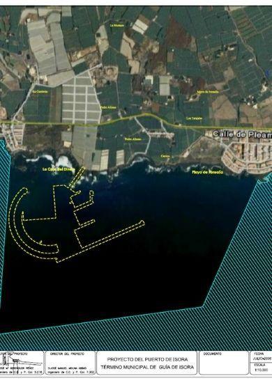 Fotografía de situación del puerto