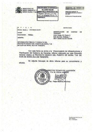 Informe costas febrero 2011 - Consulta institucional