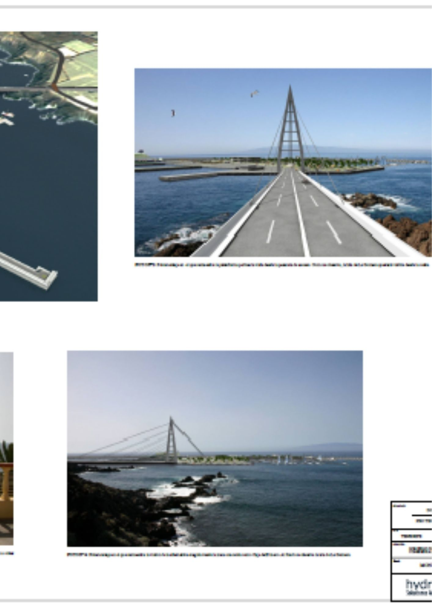 Montaje del puerto de Isora