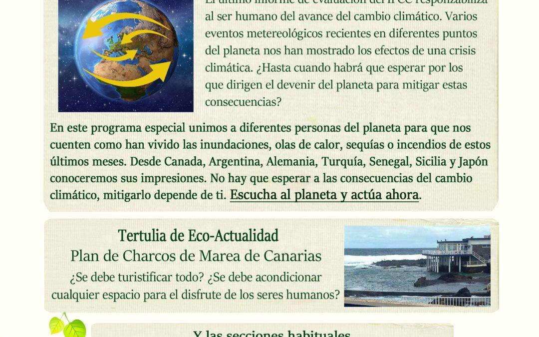 Cartel Trinchera Verde - Cumbre del Cambio Climático